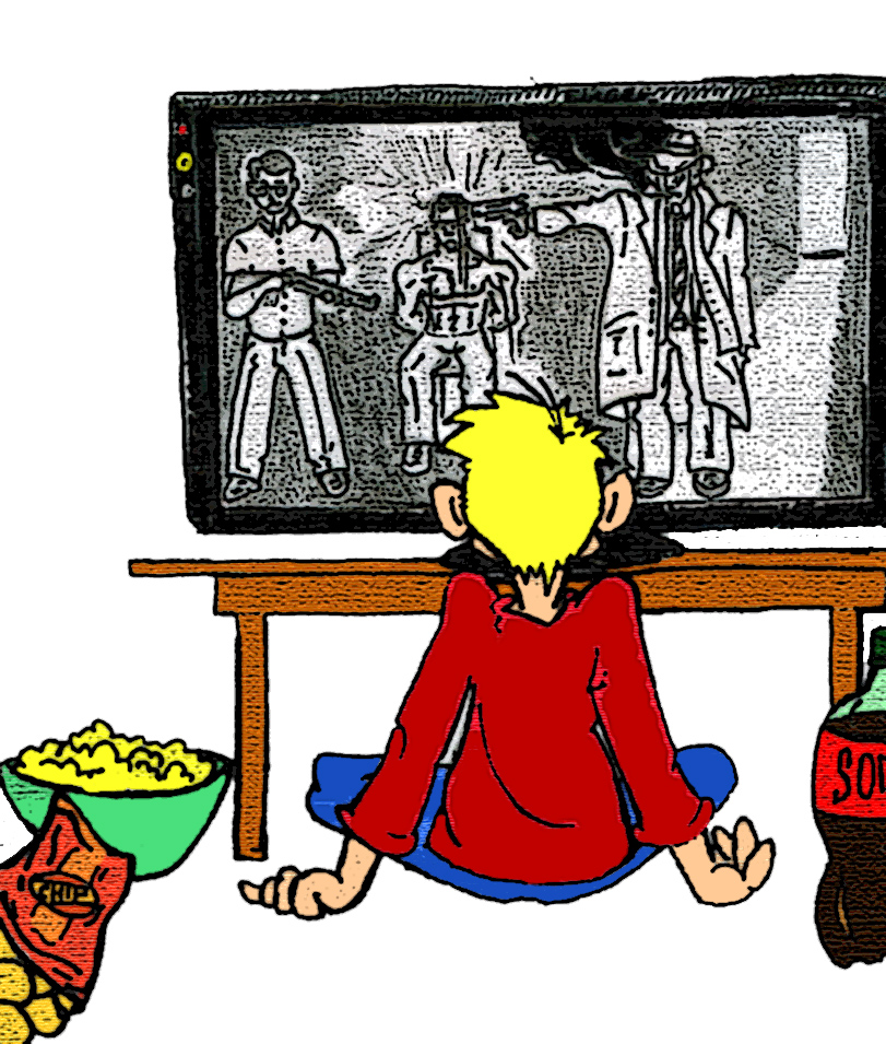 affect violence on television has on children The research on the effects of tv violence have been summarized by the national institute of mental health (1982):     violence on television does lead to aggressive behavior by children and teenagers who watch the programs.